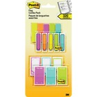 Post-it® Flag Combo Pack - Arrow - Red, Yellow, Pink, Blue, Green - Self-adhesive, Repositionable, Writable - 320 / Pack