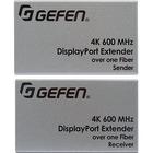 Gefen Ultra HD 600MHz DisplayPort 1.2 Extender over one SC-Terminated FiberOptic Cable - 1 Input Device - 1 Output Device - 656.17 ft (200000 mm) Range - 2 x SC Ports - DisplayPort - 4K - 4096 x 2160 - Optical Fiber