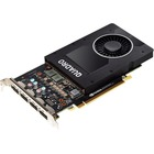 PNY Quadro P2000 Graphic Card - 5 GB GDDR5 - Full-height - 160 bit Bus Width - DisplayPort