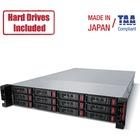 Buffalo TeraStation 51210RH Rackmount 96 TB NAS Hard Drives Included - Annapurna Labs Alpine AL-314 Quad-core (4 Core) 1.70 GHz - 12 x HDD Installed - 96 TB Installed HDD Capacity - 8 GB RAM DDR3 SDRAM - Serial ATA/600 Controller - RAID Supported 0, 1, 5,