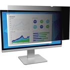 "3M Privacy Filter Black, Matte, Glossy - For 22"" Widescreen Monitor - 16:10"