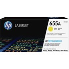 HP 655A (CF452A) Toner Cartridge - Yellow - Laser - 10500 Pages - 1 Each