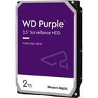 WD Purple 2TB Surveillance Hard Drive - 5400rpm - 64 MB Buffer - 3 Year Warranty