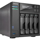 ASUSTOR AS6404T SAN/NAS Storage System - Intel Celeron J3455 Quad-core (4 Core) 1.50 GHz - 4 x HDD Supported - 40 TB Supported HDD Capacity - 8 GB RAM DDR3L SDRAM - Serial ATA/600 Controller - RAID Supported 0, 1, 5, 6, 10, JBOD - 4 x Total Bays - 4 x 2.5