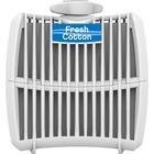 Genuine Joe Air Refreshener Refill Cartridge - Fresh Cotton - 12 / Carton - Long Lasting, Odor Neutralizer