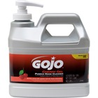 Gojo® Sanitizing Gel - Cherry Scent - 1.89 L - Pump Bottle Dispenser - Dirt Remover, Grease Remover, Oil Remover - Hand - Clear - Heavy Duty, Carry Handle, pH Balanced - 1 Each
