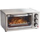 Hamilton Beach Stainless Steel 6 Slice Toaster Oven - Toast, Bake, Broil - Stainless Steel