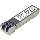 StarTech.com 10GBASE-ZR MSA Compliant SFP+ Module - LC Connector - Fiber SFP+ Transceiver - Lifetime Warranty - 10 Gbps - Max. Transfer Distance 80 km (49.7 mi) - 10GBASE-ZR fiber transceiver adds reliable 10Gb over fiber - StarTech.com lifetime warranty