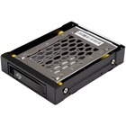 """StarTech.com 2.5 SATA Drive Hot Swap Bay for 3.5"""" Front Bay - 2.5in SATA SSD/HDD Hard Drive Rack - Anti-Vibration - Mobile Rack - 1 x HDD Supported - 1 x SSD Supported - 1 x 2.5"""" Bay - Plastic, Aluminum"""