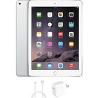 """eReplacements iPad Air Tablet - 9.7"""" - 16 GB Storage - iOS 7 - Silver, White - Refurbished - Apple A7 SoC - ARM Cyclone Dual-core (2 Core) 1.30 GHz - 1.2 Megapixel Front Camera - 5 Megapixel Rear Camera"""