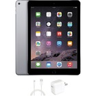 """eReplacements iPad Air 2 Tablet - 9.7"""" - 2 GB RAM - 16 GB Storage - iOS 8 - Space Gray - Refurbished - Apple A8X SoC - ARM Typhoon Triple-core (3 Core) 1.50 GHz - 1.2 Megapixel Front Camera - 8 Megapixel Rear Camera"""