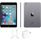 """eReplacements iPad mini 2 Tablet - 7.9"""" - 16 GB Storage - iOS 7 - Space Gray, Black - Refurbished - Apple A7 SoC - ARM Cyclone Dual-core (2 Core) 1.30 GHz - 1.2 Megapixel Front Camera - 5 Megapixel Rear Camera"""