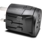Kensington International Travel Adapter - Grounded (3-Prong) - 3 Prong Male - 120 V AC, 230 V AC