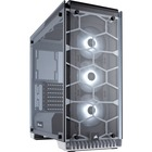 "Corsair Crystal Series 570X RGB ATX Mid-Tower Case - White - Mid-tower - White - Steel, Tempered Glass - 4 x Bay - 3 x 4.72"" (120 mm) x Fan(s) Installed - 0 - ATX, Mini ITX, Micro ATX Motherboard Supported - 10.90 kg - 6 x Fan(s) Supported - 2 x Internal"