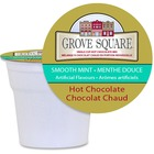 TreeHouse Mint Single Hot Chocolate - Hot Chocolate, Mint Flavor - K-Cup - 24 / Box