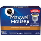 Maxwell House Medium Roast House Blend Coffee Pods K-Cup - House Blend, Classic - Medium - 12 / Box