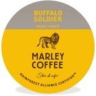 Mother Parkers Buffalo Soldier Dark-Roast Coffee OneCup - Earthy, Lemon, Buffalo Soldier, Chocolate Cream - Dark - 24 / Box