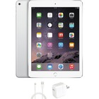 """eReplacements iPad Air 2 Tablet - 9.7"""" - 1 GB RAM - 64 GB Storage - iOS 8 - Silver, White - Refurbished - Apple A8X SoC - ARM Typhoon Triple-core (3 Core) 1.50 GHz - 1.2 Megapixel Front Camera - 8 Megapixel Rear Camera"""