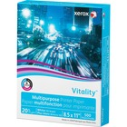 """Xerox High-Speed Copy Paper - Letter - 8 1/2"""" x 11"""" - 20 lb Basis Weight - Smooth - White"""