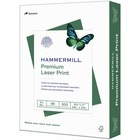 """Hammermill Paper for Color 8.5x11 Inkjet, Laser Copy & Multipurpose Paper - Letter - 8 1/2"""" x 11"""" - 24 lb Basis Weight - Ultra Smooth - 500 / Ream - White"""