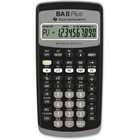 """Texas Instruments BA-II Plus Advance Financial Calculator - Power OFF Memory Protection - 1 Line(s) - 10 Digits - LCD - Battery Powered - 1 - Button Cell - 0.6"""" x 3"""" x 6"""" - Dark Gray - 1 / Each"""
