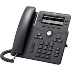 Cisco 6851 IP Phone - Charcoal - 4 x Total Line - VoIP - Caller ID - Speakerphone - 2 x Network (RJ-45) - PoE Ports - SIP, IPv4, DHCP, SNTP, NAT, STUN, UDP, TCP, LLDP, SRTP, TLS, ... Protocol(s)