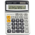 "Merangue 12-Digit Desktop Calculator - Dual Power, Auto Power Off, Built-in Memory - 12 Digits - Battery/Solar Powered - 1.3"" x 5.6"" x 8"" - Multi - 1 Each"