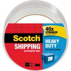 Scotch Heavy Duty Shipping Packaging Tape - 1 Roll - Clear