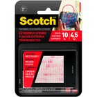"Scotch 1""x3"" Extreme Fasteners - 1 Pack - Clear"