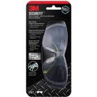 3M SecureFit Safety Eyewear - Anti-fog, Lightweight, Impact Resistant, Padded - Ear, UVA, UVB, Eye Protection - Mirror - 1 Each