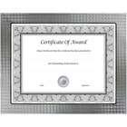"""nudell Document and Photo Frames - 12.50"""" x 10"""" x 0.37"""" (9.40 mm) Frame Size - Holds 8.50"""" x 11"""" Insert - Rectangle - Desktop - Brushed - Hanger, Easel Back - 1 Each - Metal, Glass - Silver"""