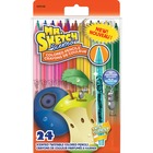 Sanford Mr. Sketch Scented Twistable Colour Pencils - Assorted Lead - 12 / Pack