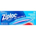Ziploc® Gallon Freezer Bags - Medium Size - 3.79 L - 2.70 mil (69 Micron) Thickness - Multi - 19/Box - Food, Meat, Poultry, Seafood, Soup
