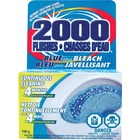 2000 Flushes Blue/Bleach Bowl Cleaner Tablets - Tablet - 103.51 mL - 1 Each - Blue