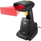 Adesso NuScan 7400TR Handheld Barcode Scanner - Wireless Connectivity - 200 scan/s - 1D, 2D - CMOS - , Radio Frequency - Black