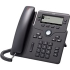 Cisco 6841 IP Phone - Corded - Corded - Charcoal - 4 x Total Line - VoIP - Caller ID - Speakerphone - 2 x Network (RJ-45) - PoE Ports - SIP, IPv4, DHCP, SNTP, NAT, STUN, UDP, TCP, LLDP, SRTP, TLS, ... Protocol(s)