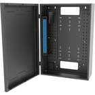C2G Wall Mount for Cabinet - Black - TAA Compliant - Black