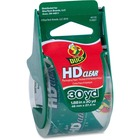 """Duck HD Clear Packaging Tape - 30 yd (27.4 m) Length x 1.89"""" (48 mm) Width - Acrylic - Heavy Duty, Long Lasting, Temperature Resistant, Durable, Tear Resistant, Break Resistant, Adhesive - 1 Each - Clear"""