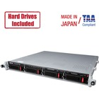 Buffalo TeraStation 5410RN Rackmount 32 TB NAS Hard Drives Included - Annapurna Labs Alpine AL-314 Quad-core (4 Core) 1.70 GHz - 4 x HDD Supported - 4 x HDD Installed - 32 TB Installed HDD Capacity - 4 GB RAM DDR3 SDRAM - Serial ATA/600 Controller - RAID