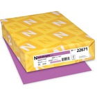 "Astrobrights Inkjet, Inkjet Print Colored Paper - 30% - Letter - 8 1/2"" x 11"" - 24 lb Basis Weight - 500 / Ream - Purple"