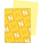 "Exact Inkjet, Laser Vellum Paper - Letter - 8 1/2"" x 11"" - 67 lb Basis Weight - 250 / Pack - Yellow"
