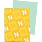 "Exact Inkjet, Laser Print Vellum Paper - Letter - 8 1/2"" x 11"" - 67 lb Basis Weight - 250 / Pack - Green"