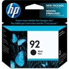 HP 92 Original Ink Cartridge - Single Pack - Inkjet - 220 Pages - Black - 1 Each