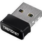 TRENDnet TBW-108UB IEEE 802.11n - Wi-Fi/Bluetooth Combo Adapter - USB - 150 Mbit/s - External