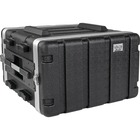 """Tripp Lite 6U ABS Server Rack Equipment Flight Case for Shipping & Transportation - External Dimensions: 22"""" Width x 22.7"""" Depth x 12.1"""" Height - 100 lb - Latch Lock Closure - Heavy Duty - ABS Plastic - Black - For Server, Ethernet Switch, Patch Panel, UP"""