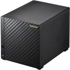 ASUSTOR AS1004T V2 SAN/NAS Storage System - Marvell ARMADA 385 Dual-core (2 Core) 1.60 GHz - 4 x HDD Supported - 48 TB Supported HDD Capacity - 512 MB RAM DDR3 SDRAM - Serial ATA/600 Controller - RAID Supported 0, 1, 5, 6, 10, JBOD - 4 x Total Bays - 4 x