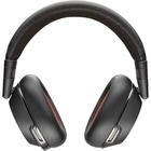 Plantronics Voyager 8200 UC Stereo Bluetooth Headset - Stereo - Mini-phone (3.5mm) - Wired/Wireless - Bluetooth - 98.4 ft - Over-the-head - Binaural - Circumaural - Noise Cancelling Microphone - Black