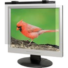 "Business Source 19""-20"" LCD Monitor Antiglare Filter Black - For 19""LCD, 20"" Monitor - 5:4 - Acrylic"