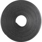 "Business Source 38506 Magnetic Tape Roll - 10 ft (3 m) Length x 0.50"" (12.7 mm) Width - 59.06 mil (1.50 mm) Thickness - Adhesive Backing - Magnetic, Flexible - 1 Each - Black"