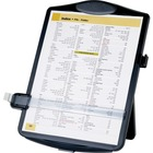 "Business Source Easel Document Holder - 10"" (254 mm) x 2"" (50.80 mm) x 14"" (355.60 mm) x - 1 Each - Black"